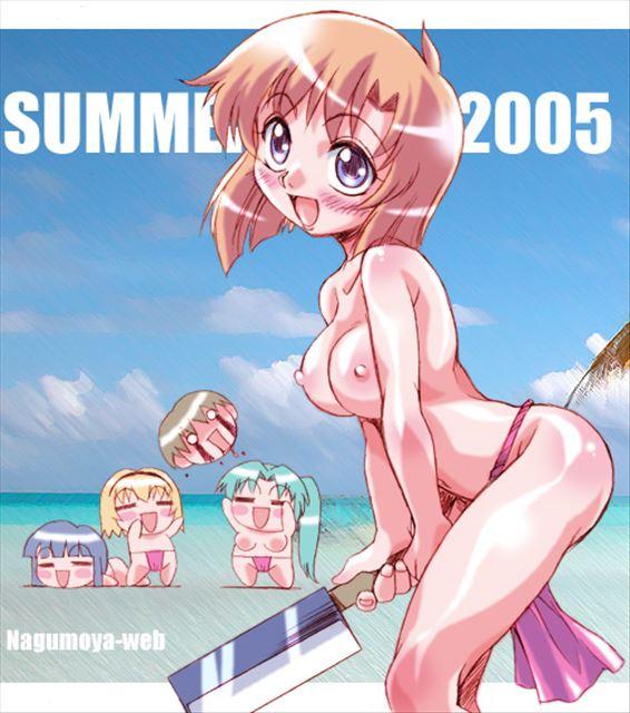 夏も近づきお祭りの季節だし日本の伝統的下着ふんどしで身を引き締めてる美少女二次エロ画像