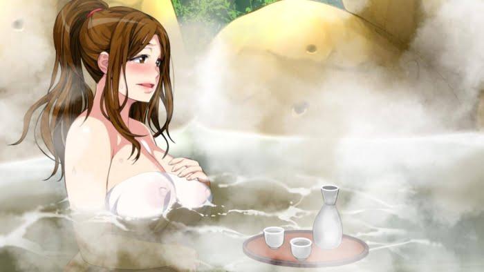 夏の暑い日が続くので美少女とお風呂に一緒に浴場で欲情二次エロ画像