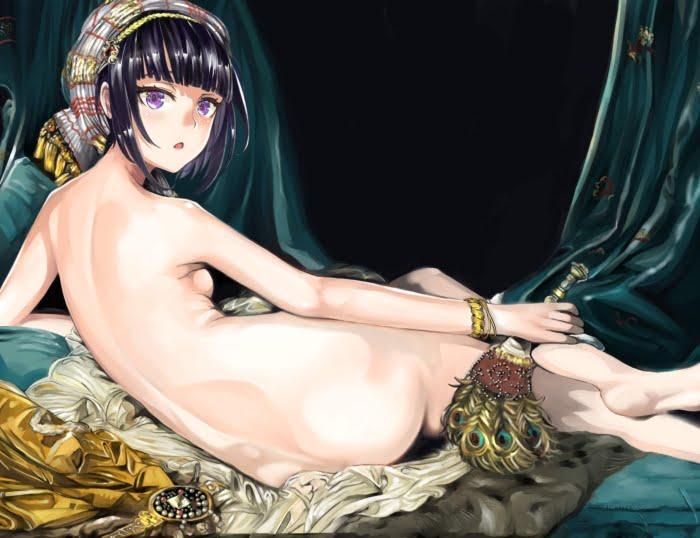デレマスの黒髪貧乳メイド美少女な白雪千夜のご主人様になりたい二次エロ画像