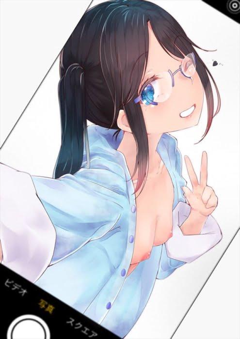 アイドルマスターシャイニーカラーズのメガネJK三峰結華のスケベな二次エロ画像
